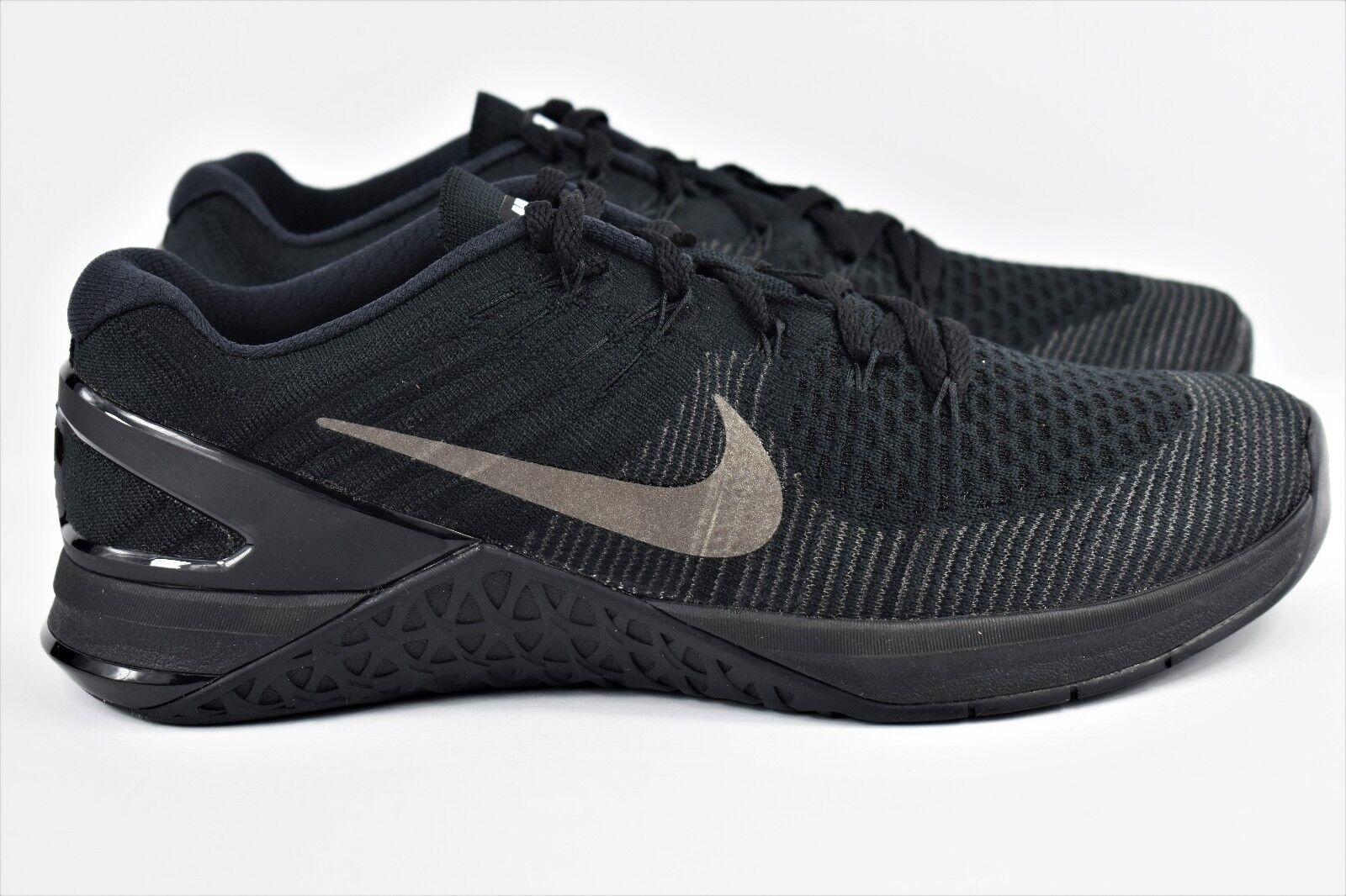 Nike metcon dsx flyknit scarpe Uomo 8 nero formazione scarpe flyknit crossfit 852930 004 94d69a