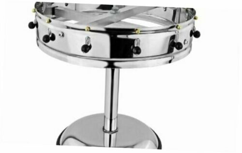 New Star Stainless Steel Order Wheel Ticket Holder 14-Inch Dia with 12 Clips