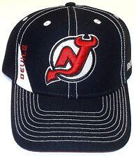 New Jersey Devils NHL Reebok Hockey Eishockey Cap Kappe mit Klettverschluss
