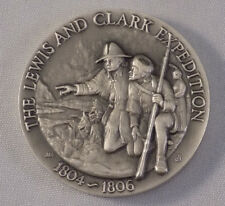 The Lewis and Clark Expedition Longines Symphonette Sterling Silver Medallion