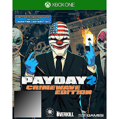 Payday 2 Crimewave Edition Xbox One xbox 1 aus game