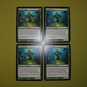 Farhaven-Elf-x4-Shadowmoor-4x-Playset-Magic-the-Gathering-MTG