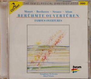 2er-CD-SET-KLASSIK-BERUHMTE-OUVERTUREN-Symphony-Orchestra-Alfred-Scholt