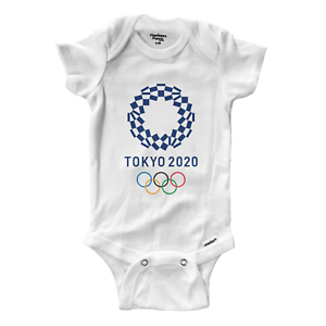 Infant Gerber bodys d/'Body Babysuit Baby Shower Tokyo Jeux Olympiques 2020 Casual