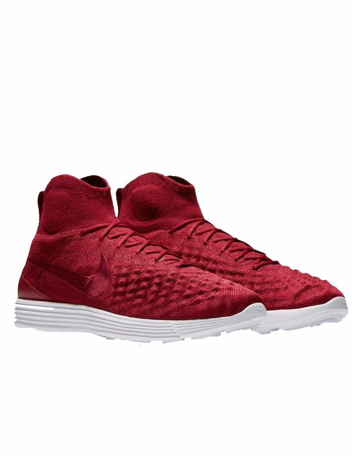 Nike Men's Lunar Magista II FK, TEAM RED TEAM RED-TEAM RED Size 9
