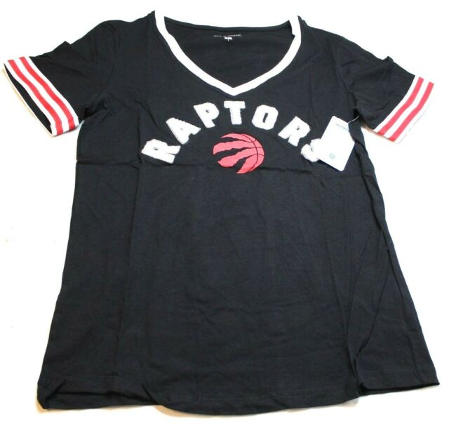 the best attitude c425b d1b4e NBA Toronto Raptors Women's Baby Jersey Short Sleeve V-neck W/chenille  Applique