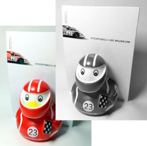 Porsche badeente pato Car Racer Duck le mans victory nº 23 rojo blanco