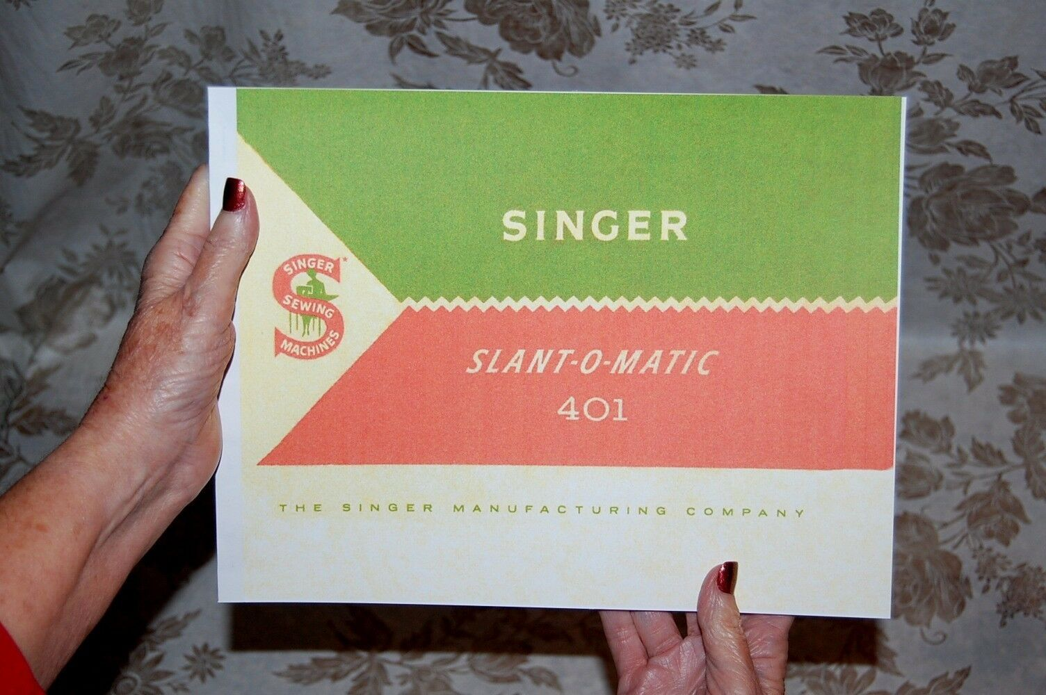 large deluxe edition instructions manual for singer 401 401a sewing rh ebay com Singer 401A Manual PDF Simple Singer Sewing Machine Manual