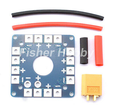 Power Battery ESC Distribution Board with XT60 connector for Multicopter