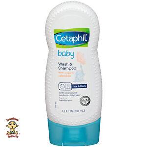 Cetaphil Baby Wash and Shampoo w/ Organic Calendula Authentic & Brand New 7.8oz
