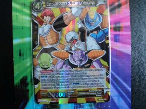 Dragon Ball Super Card Game FR Liens puissants du Commando Ginyu  P-024 PROMO