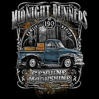 Moonshiners Moonshine Midnight Runner Old Truck 190 Proof Long Sleeve T Shirt