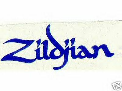 2 - VINYL ZILDJIAN CYMBAL DECALS STICKERS  Drums