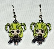 Misa Amane Death Note Anime Earrings Surgical Hook New
