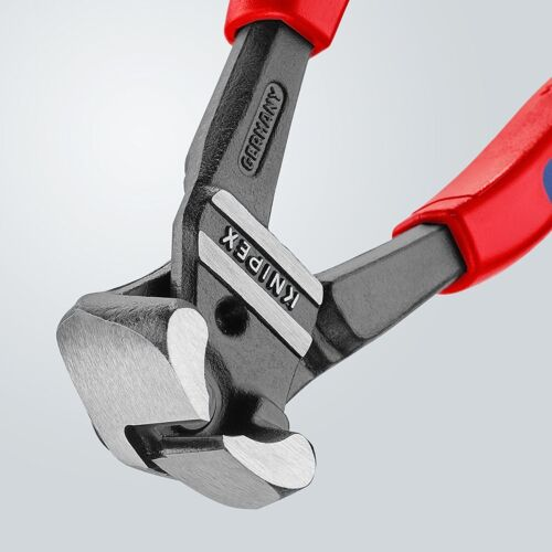 Knipex 200mm End Bolt Cutters or Nippers Suitable as Fencing Pliers 61 02 200
