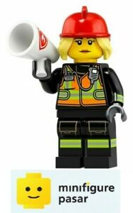 Lego-71025-Collectible-Minifigure-Series-19-No-8-Fire-Fighter-New