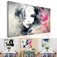 Monkey Lady Girl Canvas Print Painting Picture No Frame Wall Art Display Decor
