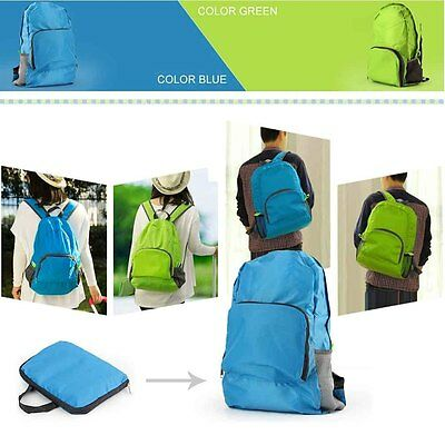 Men Women Waterproof Backpack Hiking Bag Camping Travel Rucksack Sports Pack