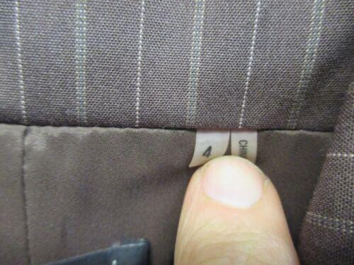 Tahari Pin 428 Sycamore Blend Nwt Button 739412604086 New Striped 3 Rayon Brown Blazer 4 qFvdITw