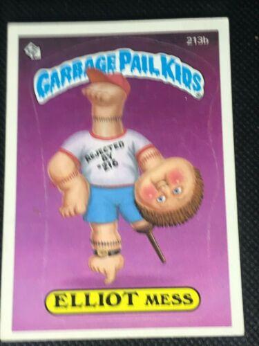 Garbage Pail Kid Number 213b Elliot Mess