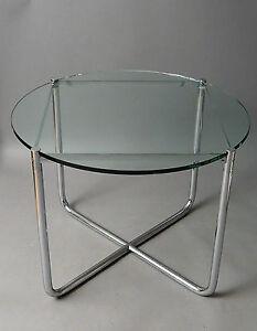 Mies Van Der Rohe Tisch Knoll International Bauhaus Stahlrohr Ebay