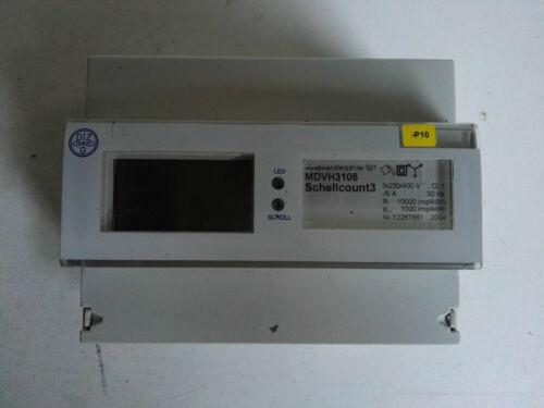 Corriente giratoria contador dvh3106 schellcount 3 contadores de energía