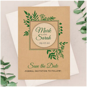 Save-The-Date-Wooden-Magnets-PERSONALISED-Botanical-Greenery-Save-The-Date-Cards