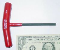 Bondhus 5mm Hex Wrench For The Unimat Lathe, T Handle, Short