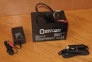 Battery-amp-Charger-for-SK2229R-Scoreboard-MacGregor-GameCraft-BSN-SSG