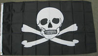3X5 POISON PIRATE FLAG JOLLY ROGER SKULL BANNER F769