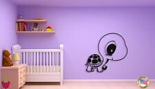 Wall Sticker For Kids Baby Turtle Cool Decor for Nursery Room z1403