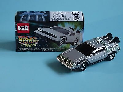 Universal Studios Japan Back to the Future The Ride De Lorean Tomica Diecast Car