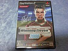 "Sony PS2 Soft "" World Soccer WINNING ELEVEN 2008 "" KONAMI NTSC-J SS Used JPN"