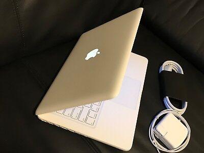 "Apple Laptops Apple Macbook White 13"" Mc516ll/a 250gb Hdd Intel 2.40ghz 4gb Latest Mac Os 2017"