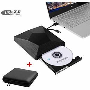 "External CD DVD Drive Laptop, USB 3.0 "" Type-C Burner Mac ..."