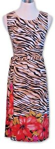 TEABERRY-Dress-Ladies-10-Leopard-Print-with-belt-MBC