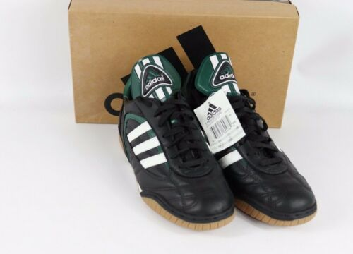 designer fashion 71785 4e0af nuove Uomo Adidas indoor calcio 605950604782 nero anni 11  90 verde colore  da Stratos 5 Scarpe 4WxSZvw4