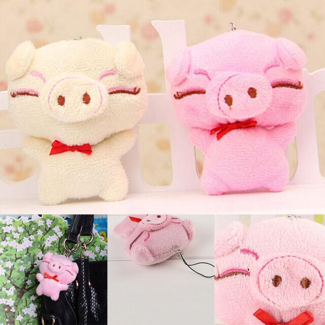 1 Pcs Cartoon Pig Decor Baby Kid Plush Piggy Stuffed Toy Color Random