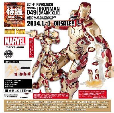 Kaiyodo Marvel Revoltech 049 SCI-FI IRON MAN 3 MARK XLII MK 42 Figure