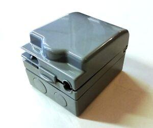 Weatherproof Enclosure Outdoor Electrical Connection Box Plug Socket ...