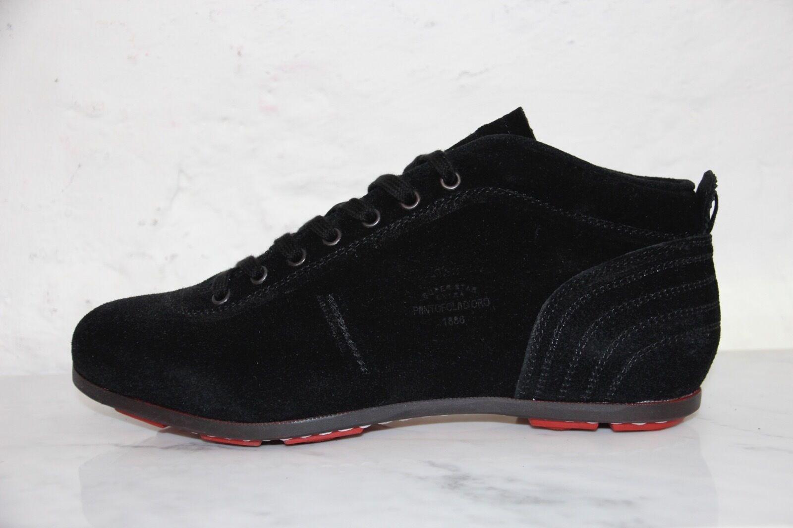 PANTOFOLA D´ORO PDO PDO PDO Sneaker SL02U Leder schwarz super Star extra Gr.43 OVP 329 d6fd7a