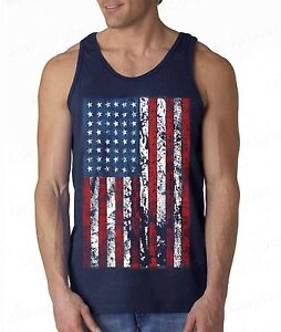 9ed2589037a9a NEW American Flag distressed TANK TOP vintage USA flag American ...