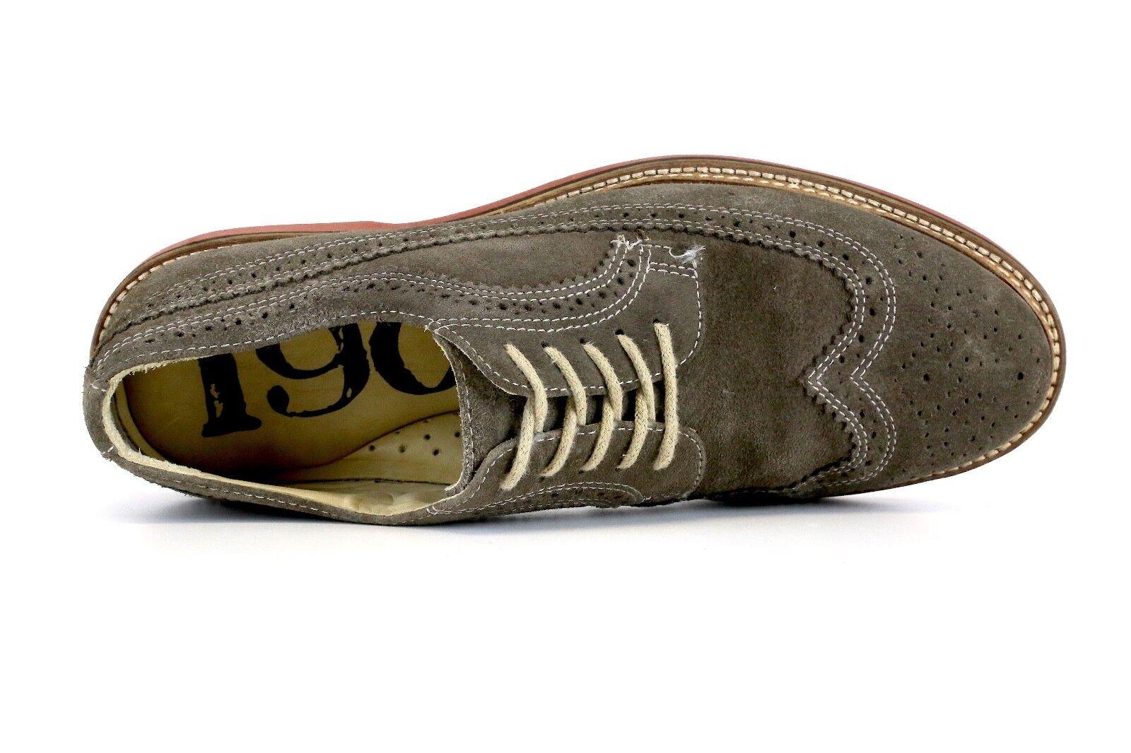 1901 Braun Up Suede Men Wingtip Lace Up Braun Oxfords Größe 9M 8395 100761