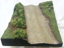 "Great North Roads Plaster ""Country Track"" Diorama base 1/35"