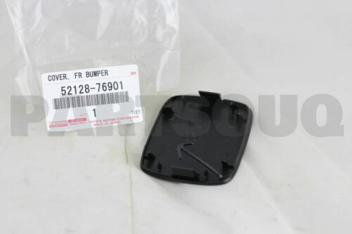 LH 52128-76901 5212876901 Genuine Toyota COVER FRONT BUMPER HOLE