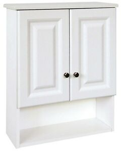 bathroom wall cabinet white bathroom vanity wall thermofoil cabinet above toilet 11835