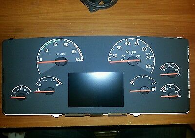 VOLVO SEMI TRACTOR TRUCK VN VNL INSTRUMENT CLUSTER REPAIR SERVICE 1996 TO 2003