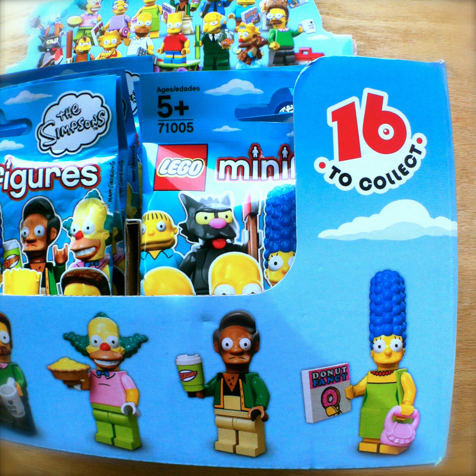 LEGO SIMPSONS 71005 THE SIMPSONS LEGO Minifigures Complete Set of 16 SEALED Minifigs Series 1 14bca6