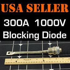 300A 1000V BLOCKING DIODE WIND GENERATOR SOLAR PANEL 300 AMP PANELS TURBINE STUD