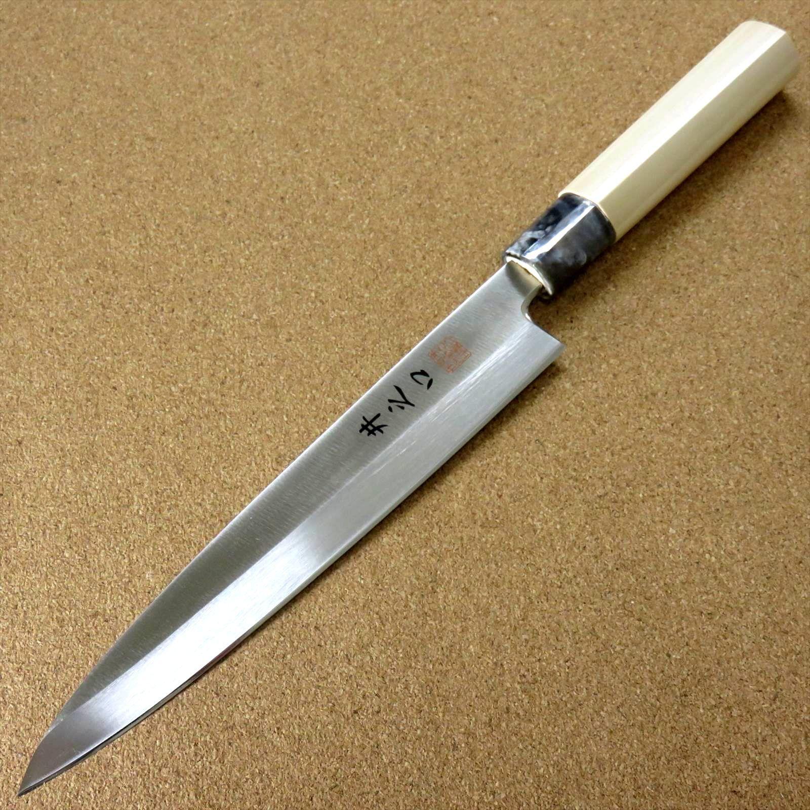 Japonais cuisine Sashimi Yanagiba Knife 8.3 in (environ 21.08 cm) Gaucher Bois Naturel Japon